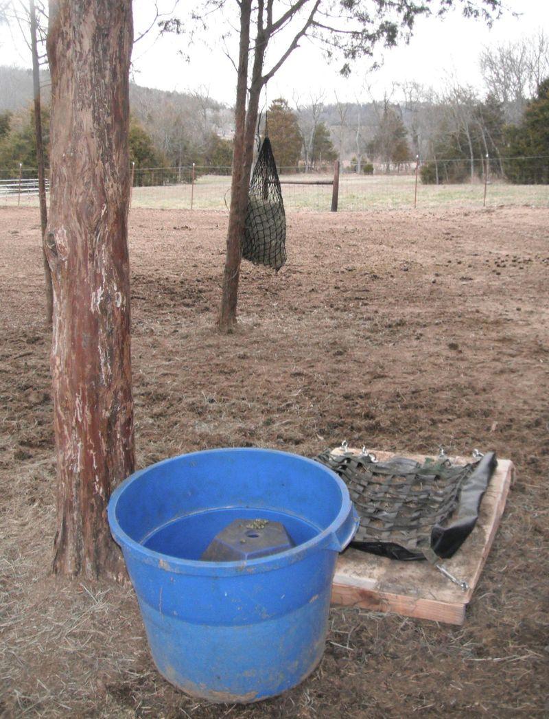 Hay feeders 2-3-11